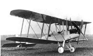 picture of ww1 plane with link to airport