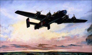 picture of a Bomber commissioned by Douglass John Mole